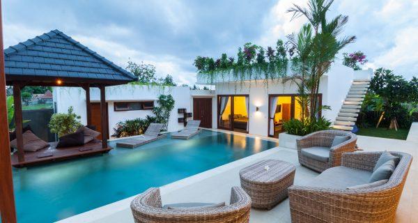 Роскошный отель на тропическом острове