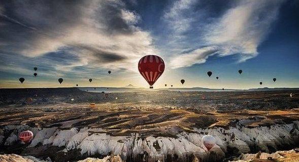 Полет на воздушных шарах, Каппадокия, Фото poznaimir.net
