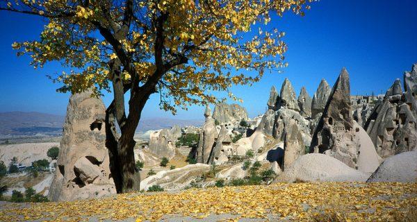 Каппадокия осенью. Турция, Фото udivitelno.com