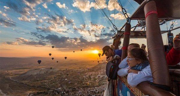Фантастический ландшафт, Каппадокия, Фото traveling.by