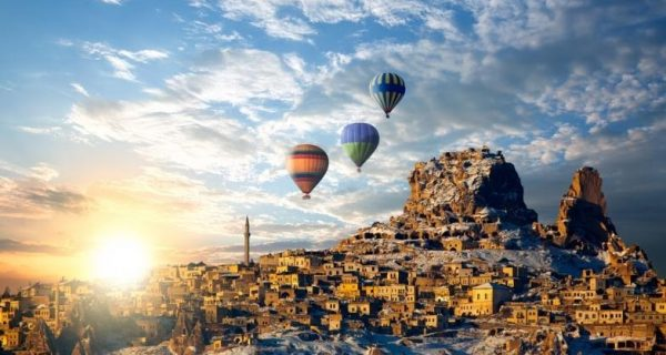 Каппадокия, Турция, Фото tonkosti.ru