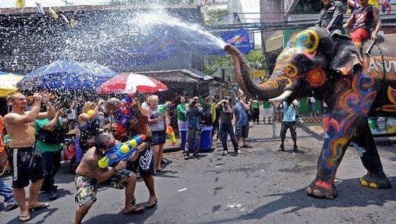 Тайский Новый Год, Фото fresher.ru