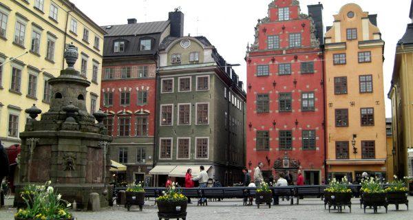 Старый город в Стокгольме, Фото weatheravenue.com