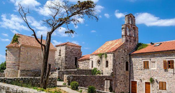 Церковь в Старом городе. Будва, Фото travel-hystory.com