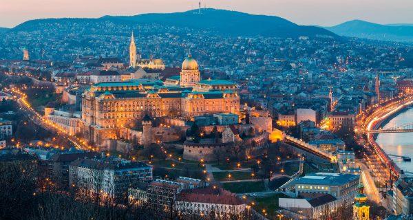 Будапешт. Вид сверху, Фото lawstudies.ru
