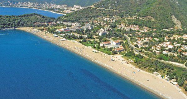 Пляж Бечичи в Черногории, Фото turizm.ru