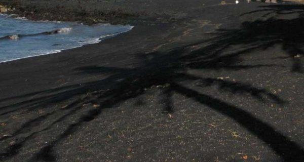 Пляж с черным песком, Фото maxpark.com