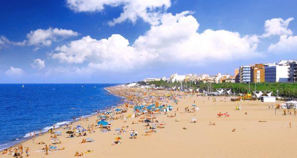 Пляж в Барселоне, Испания, Фото abcnyheter.no