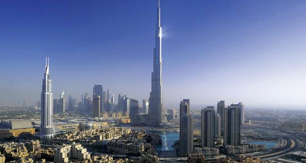 Самый высокий в мире небоскреб : Дубайская башня - Бурдж Халифа Дубаи, Фото fullpicture.ru