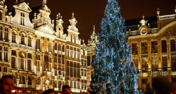Рождественский Брюссель, Фото photocory.com