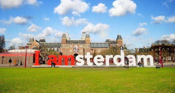 Популярное место в Амстердаме, Фото swisstoursbyte.com