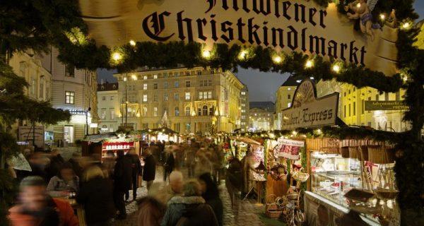 Рождественская ярмарка в Вене, Фото en.wtcf.org.cn
