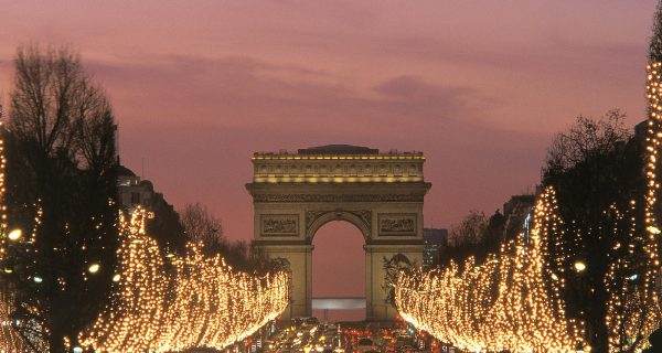 Праздничный Париж, Фото pixeltravel.ru