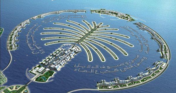 Искусственные острова Пальм в Дубае, Фото umatour.com