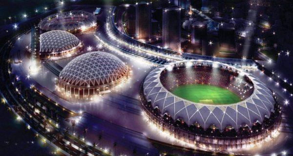 Дубайский спортивный город, Фото ru.pinterest.com