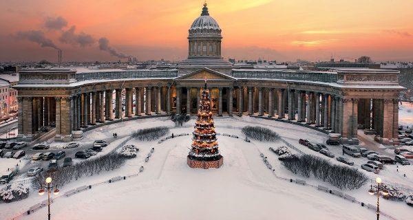 Собор Казанской иконы Божией Матери в Санкт-Петербурге, Фото nice-places.com
