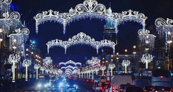 Невский проспект, декабрь 2016. @gevorg3170 / Инстаграм