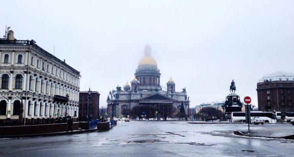 Исаакиевская Площадь. @ryzhikovroman / Инстаграм