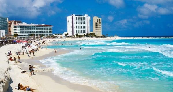 Пляж Канкуна, Фото wildwildworld.net