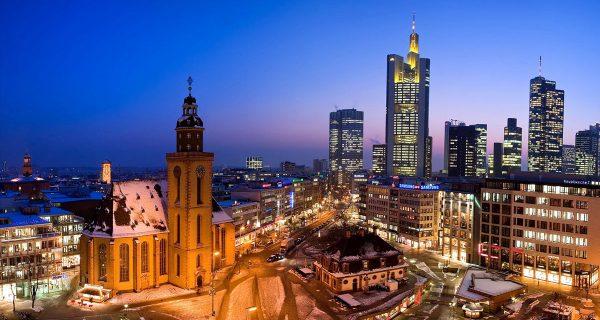 Франкфурт - Германия, Фото orangesmile.com
