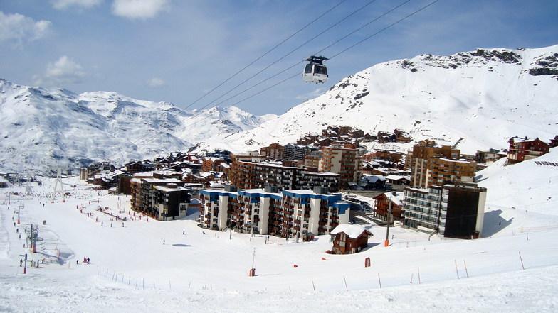 Лыжный курорт Val-Thorens во Франции, Фото snow-forecast.com