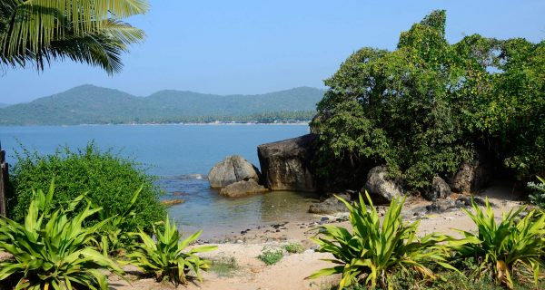 Пляж Палолем в Южном Гоа