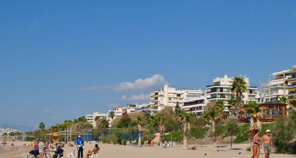 Пляж в пригороде Афин — Фалиро