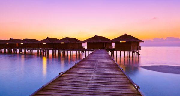 Бунгало на воде, Мальдивы