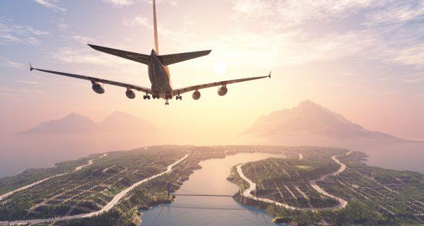 Полет над тропическими островами