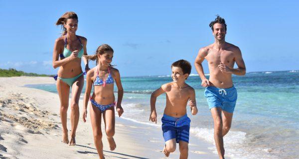 Семейный отдых на побережье Карибского моря