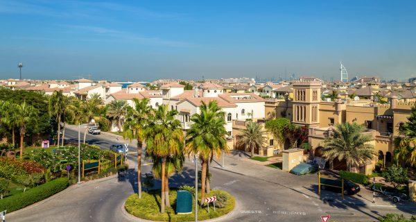 Остров Джумейра Палм в Дубае, ОАЭ