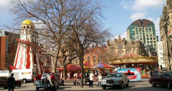 Трафальгарская площадь в центре Лондона, Фото toms-travels.net
