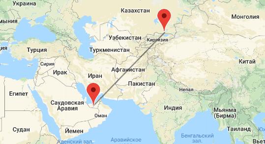 перелет Алматы - ОАЭ