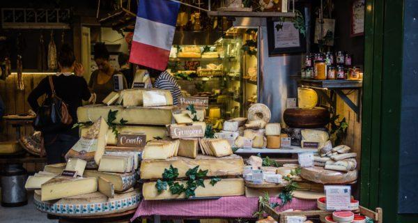 Сырная лавка в Париже, Фото unsplash.com