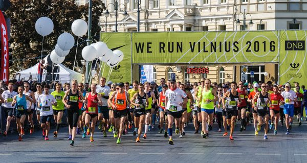 Забег We Run Vilnius 4 июня