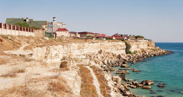 Побережье Каспийского моря в Актау