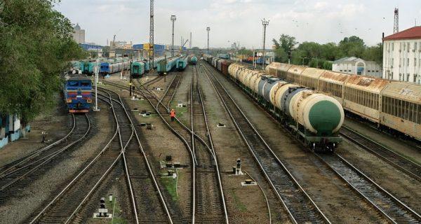 Железнодорожная станция в Актобе