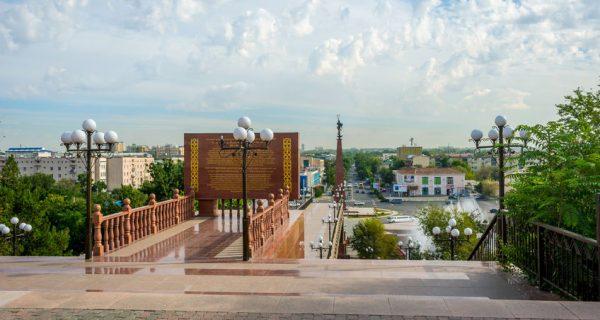 Парк Независимости в Шымкенте