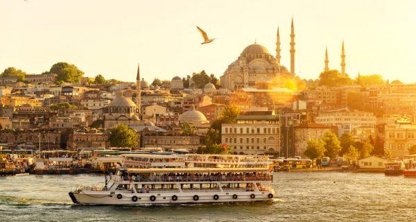 Вид на Стамбул с моря, Фото onetwotrip.com