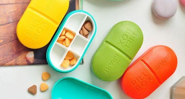 Но вообще производят и нормальные таблетницы, они удобнее и помогают соблюдать график приема лекарств, Фото yooloom.ru