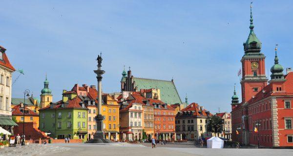 Площадь в Варшаве, Фото ewallpapers.eu