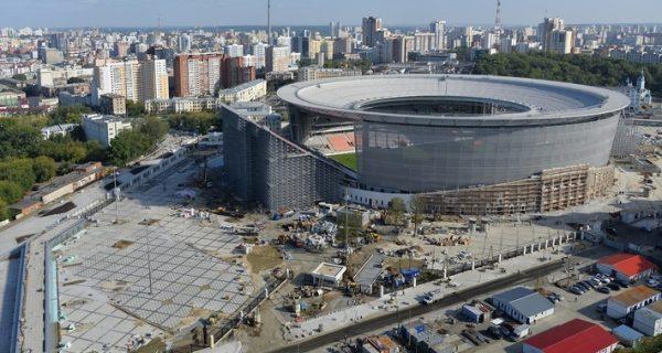Строительство стадиона «Екатеринбург Арена». Фото sdelanounas.ru