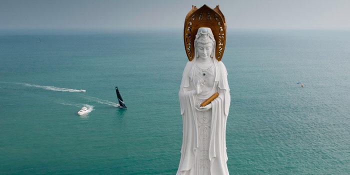 Статуя богини Гуаньинь в Санье