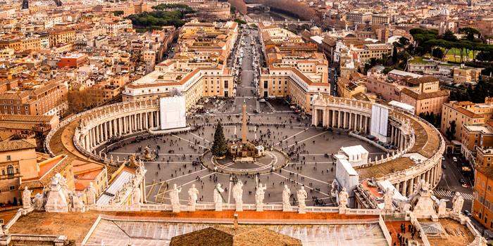 Центральная площадь в Риме