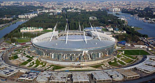 Стадион «Санкт-Петербург Арена». Фото kommersant.ru