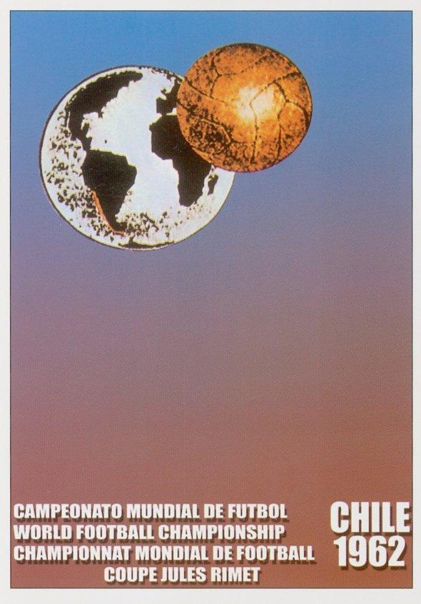 Плакат Чемпионата мира по футболу 1962 года в Чили, фото rbc.ru