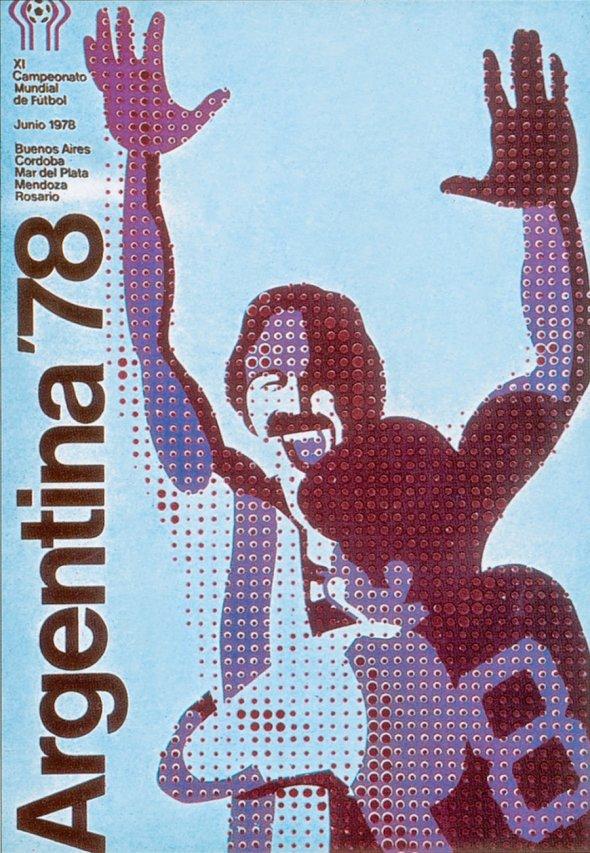 Плакат Чемпионата мира по футболу 1978 года в Аргентине, фото rbc.ru