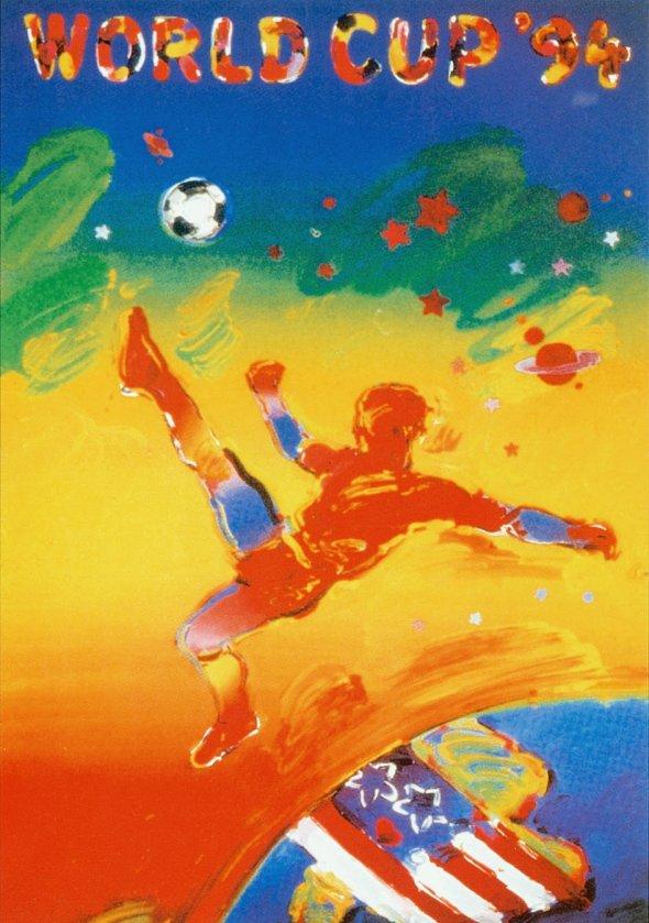 Плакат Чемпионата мира по футболу 1994 года в США, фото rbc.ru