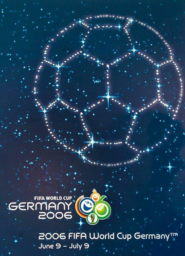 Плакат Чемпионата мира по футболу 2006 года в Германии, фото rbc.ru
