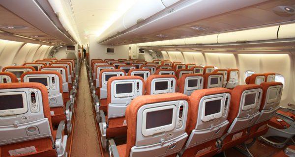 Салон самолета Аэрофлот